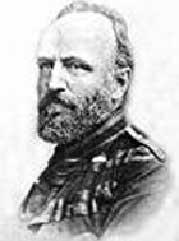 Enrico Mylius Dalgas oberstløjtnant, vejingeniør og direktør født 1828 død 1894