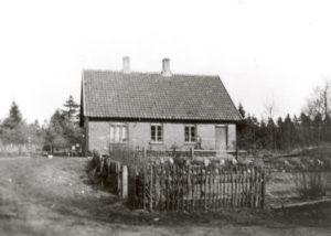 Foto af Provsthuset, nuværende adresse Jens Provsts Vej 86