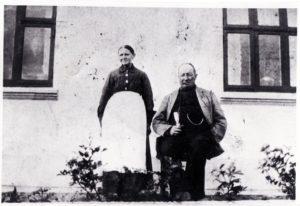Jens Th. Flensborg og Karoline