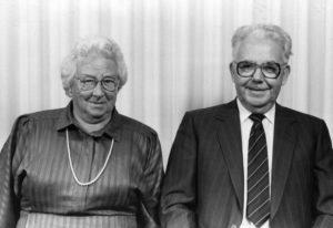 Anna og Rich. R. Nielsen