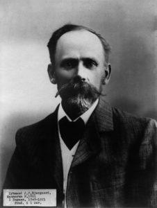 Købmand J. P. Bjergård