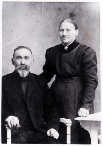 Chr. Nielsen Hansen og hustru, Else Marie