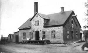 Mejeriet som det så ud ca. 1890