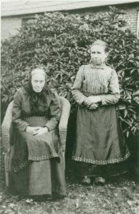 Ane Marie Mikkelsen og datter Mariane.