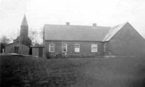Karstoft Forsamlingshus/Friskole ca. 1953